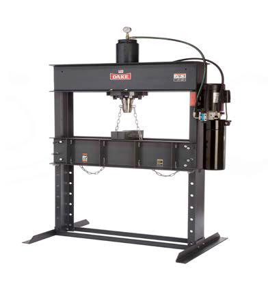 Dake Press Single Phase, Force 50DA Hydraulic Press