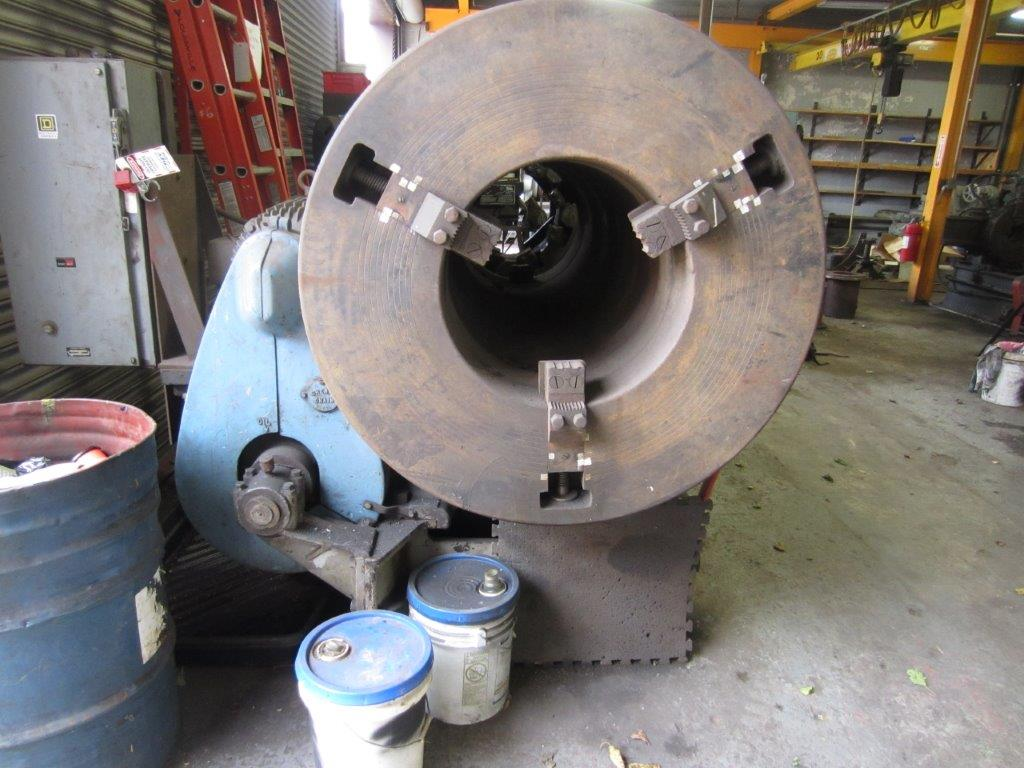 """18"""" Landis Stationary Pipe Threading and Cut-Off Machine"""