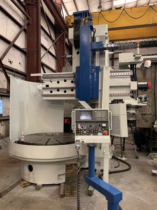 "59"" Toshiba Mdl TUE-15 High Column CNC Vertical Boring Mill"