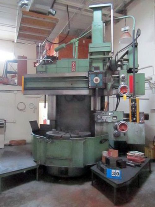 King Vertical Turret Lathe