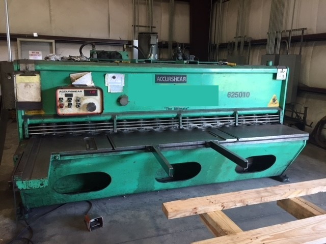 1/4 x 10 Accurshear Hydraulic Shear