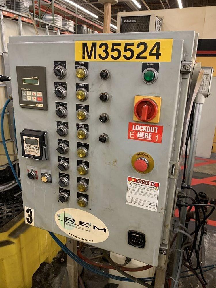 27.5 FT3 ROSLER R-780 FLAT BOTTOM ROTARY VIBRATORY FINISHER