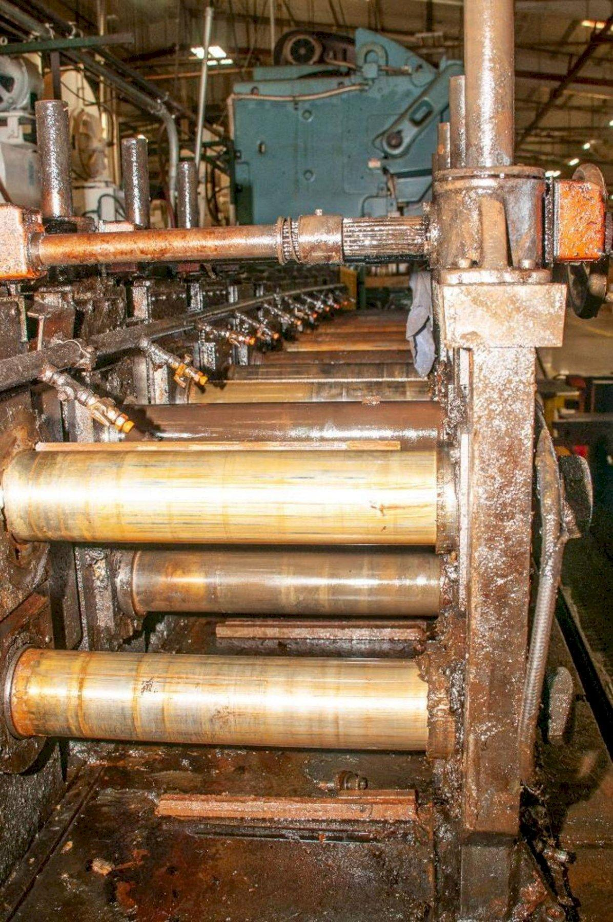 """12 STAND X 3.5"""" MAPLEWOOD ROLLFORMER: STOCK #15351"""