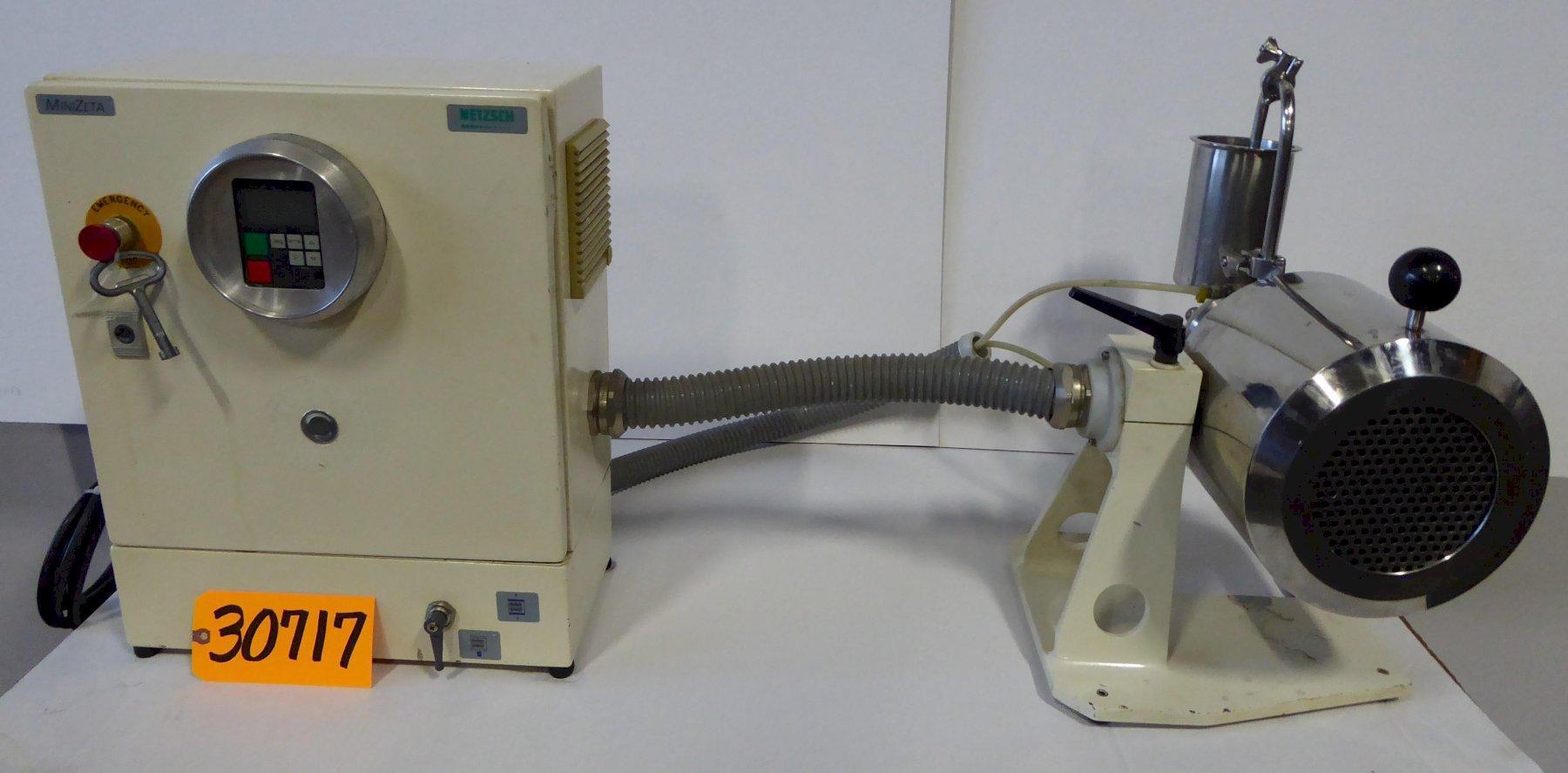 NETSCH MiniZETA 03 Laboratory Mill
