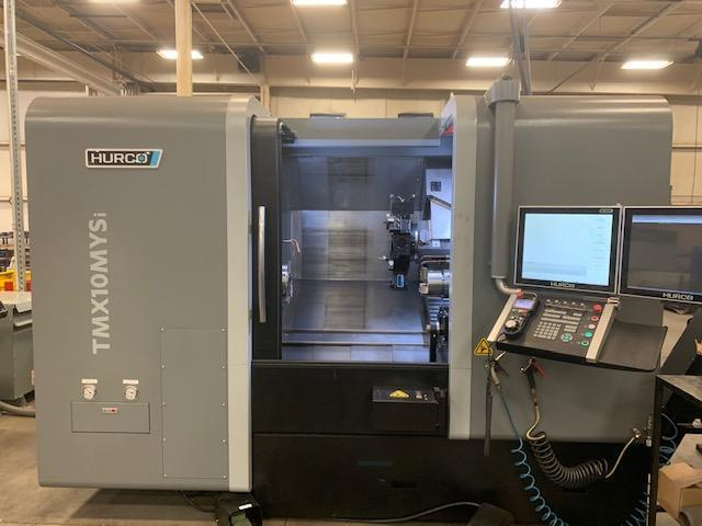 Hurco TMX10 MYSi CNC Turning Center with Sub Spindle, Live Tooling and Y axis