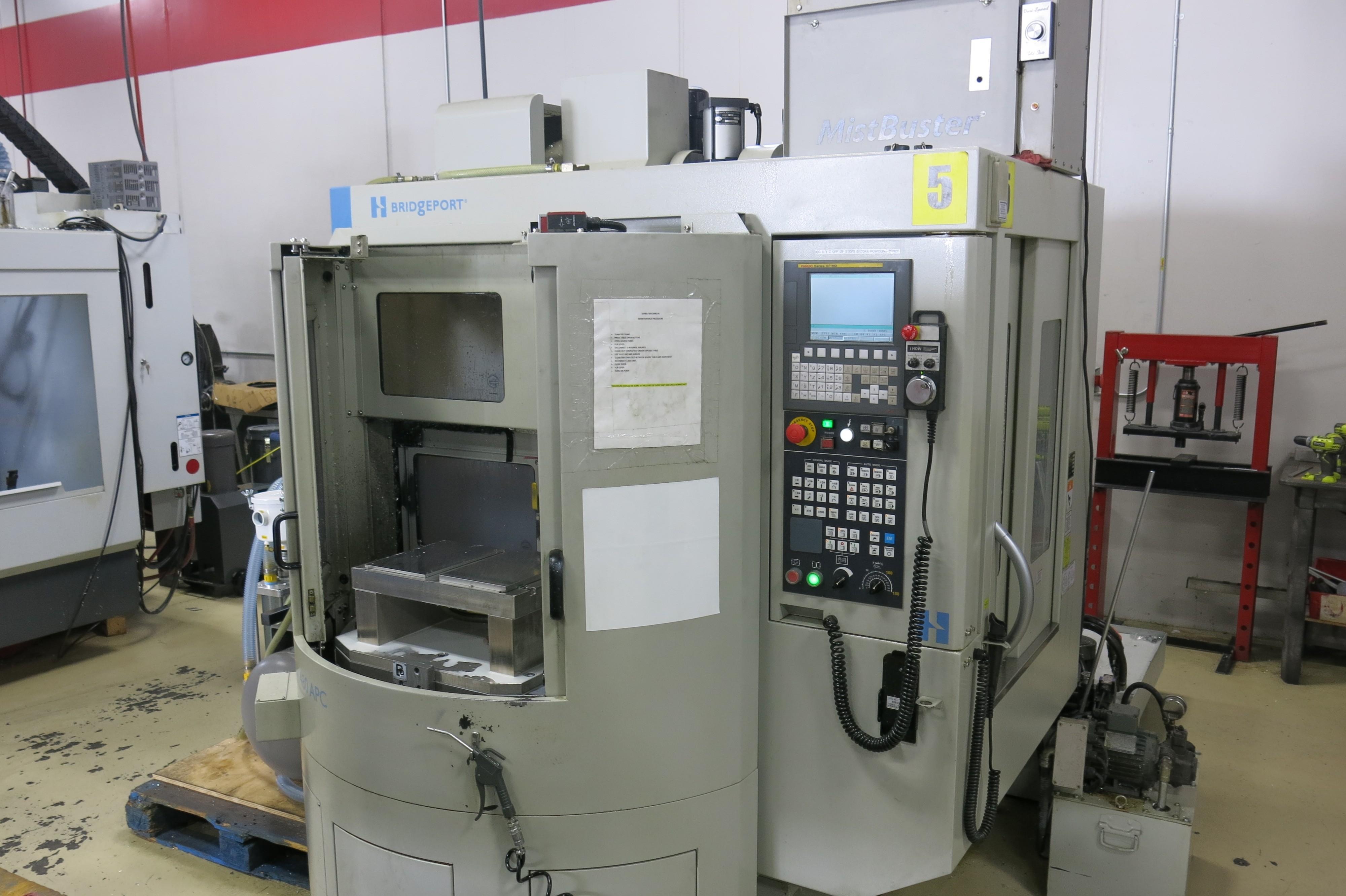 Bridgeport Model GX 480 APC CNC Vertical Machining Center, New 2014