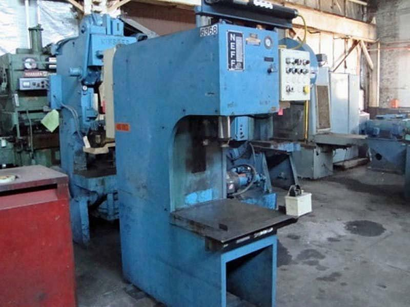 25 Ton Neff Hydraulic Press