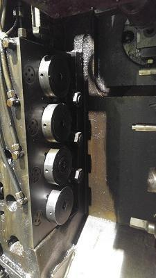 PELTZER & EHERLS MODEL# GB-20-4, 4 DIE, 5 STATION BOLTMASTER   Our stock number: 112551