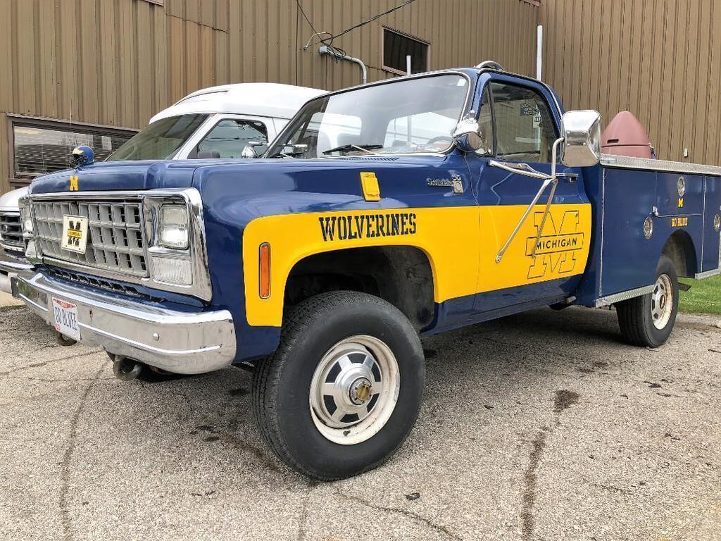 Chevy K-30 MICHIGAN PICK UP TRUCK: STOCK 13291