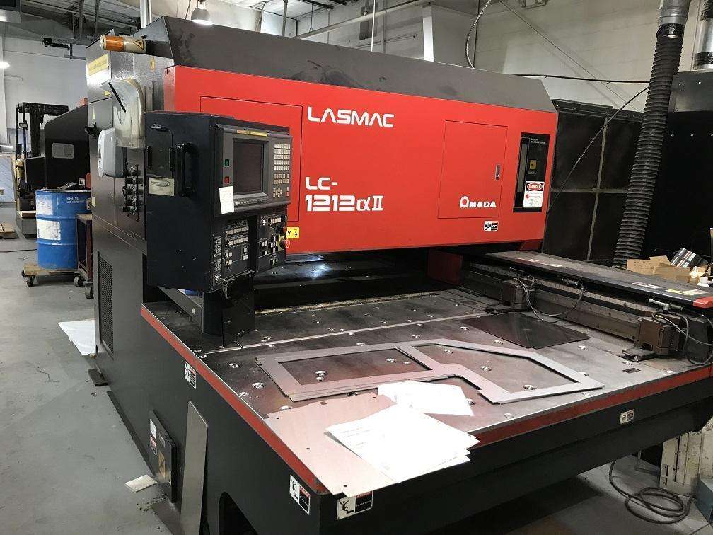 "1998 Amada Pulsar 1212, 50"" x 50"" Travel, 2000 Watt Co2 Laser"