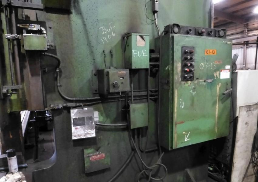1000 TON X 18' NIAGARA HD1000 14-18 HYDRAULIC PRESS BRAKE. STOCK # 2000520