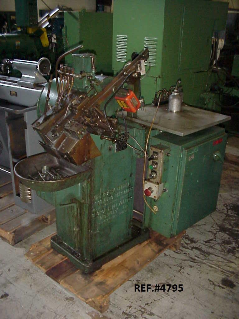 #00 Waterbury Heavy Frame Automated Flat Die Thread Roller