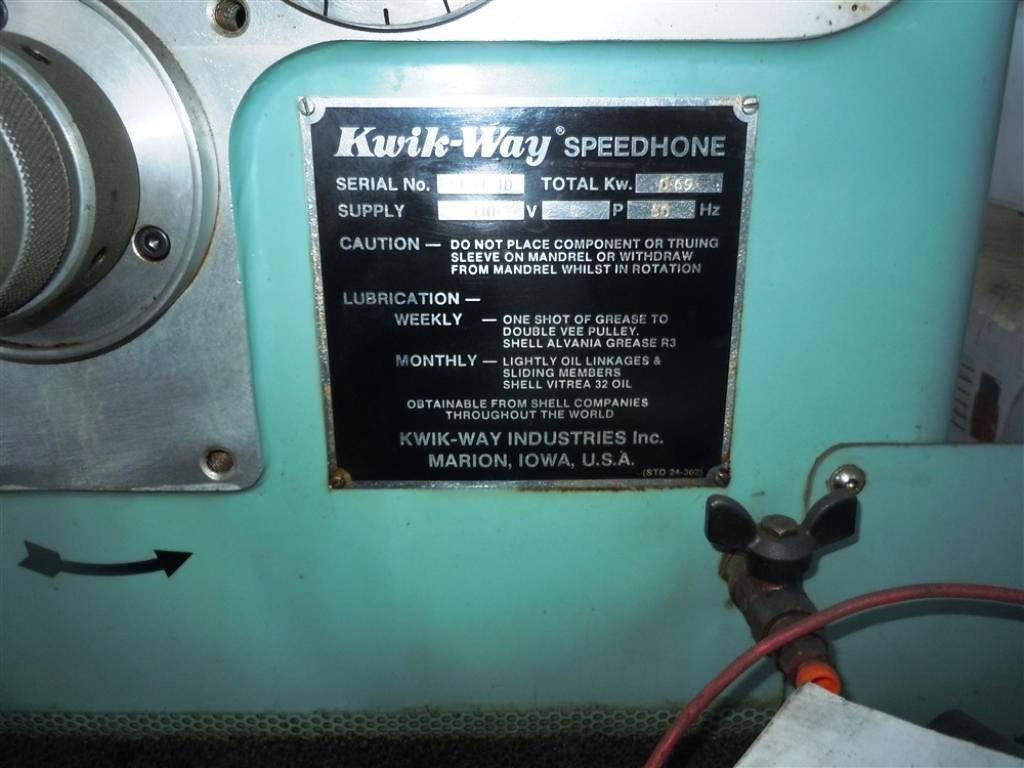 KWIK WAY MODEL 085 AUTO/STROKE HONE: STOCK #19443