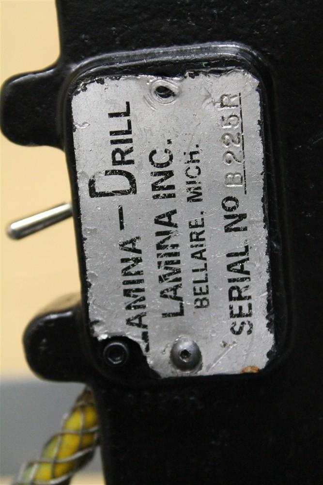 LAMINA HYDRAULIC DRILL: STOCK #55723