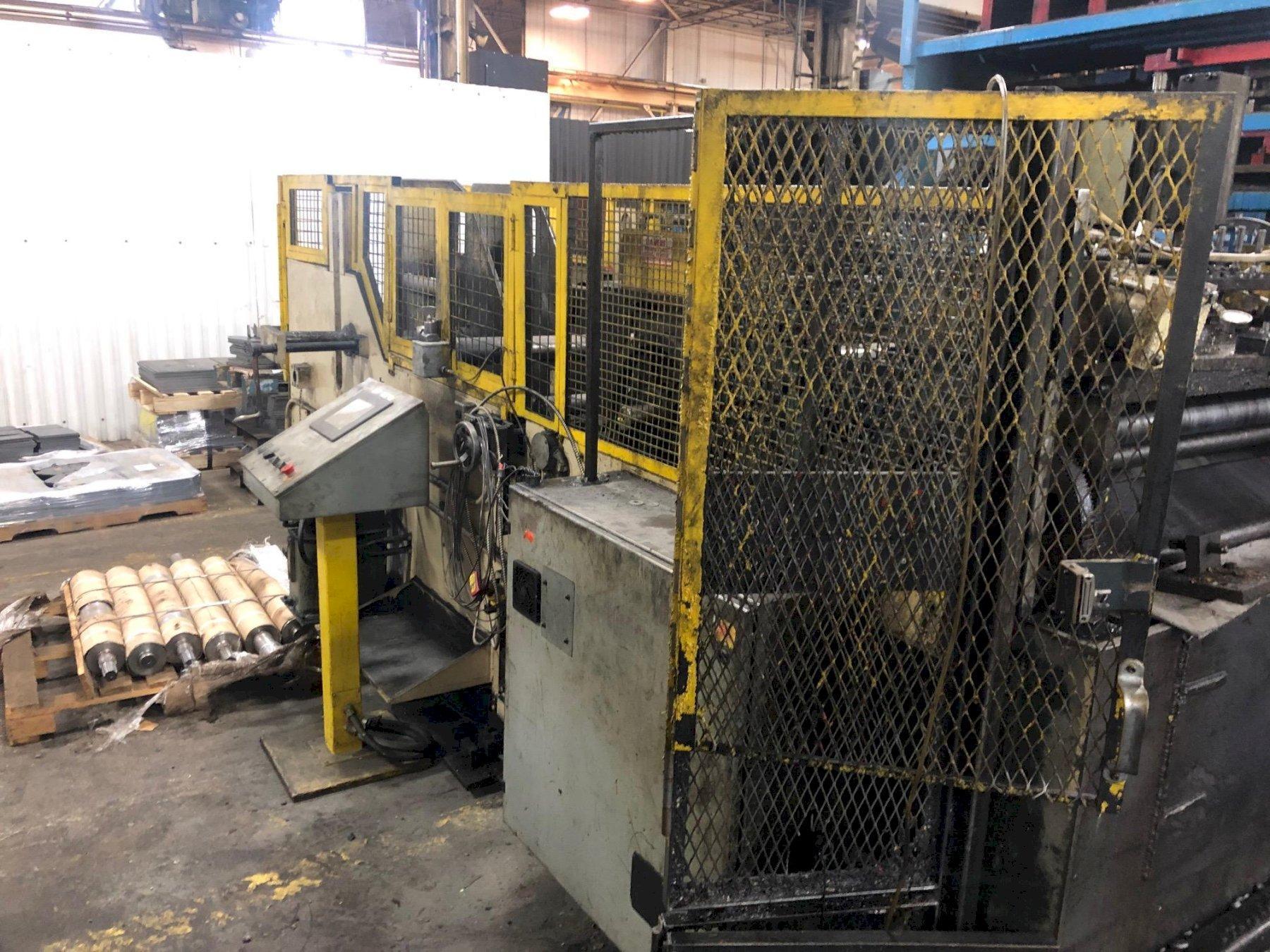 "15,000 lbs x 34"" Coe Cradle Straightener Servo Feed Model# CPCFS-500-7, NEW 1995"