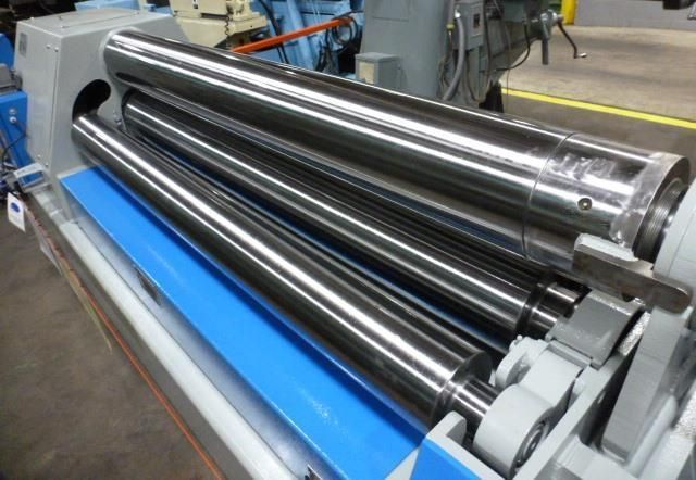 "6' x 7/16"" WDM Double Pinch Plate Bending Roll, No. 403-9-6, Four Roll, 9"" Dia. H & P Rolls, New, In Stock"