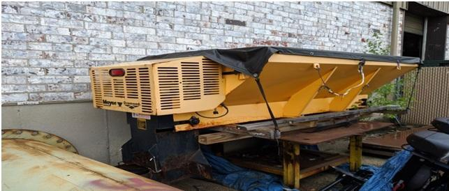 8' MEYER DIAMOND MODEL PHA PV357EST INSERT SALT SPREADER