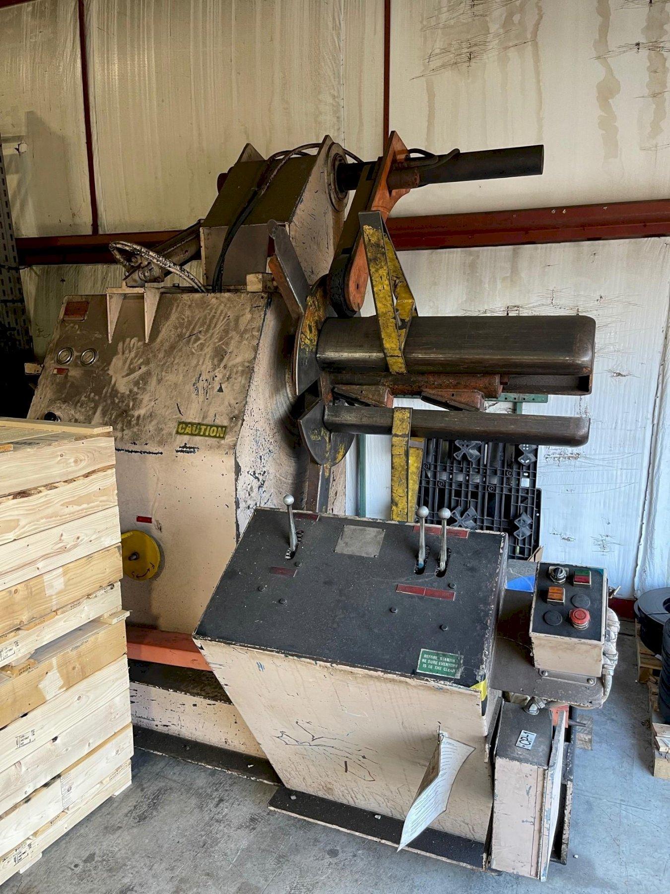 10000 lbs American Steel Line Coil Reel