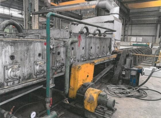 NASSHEUER ROLLER HEARTH ANNEALING FURNACE   Our stock number: 114434