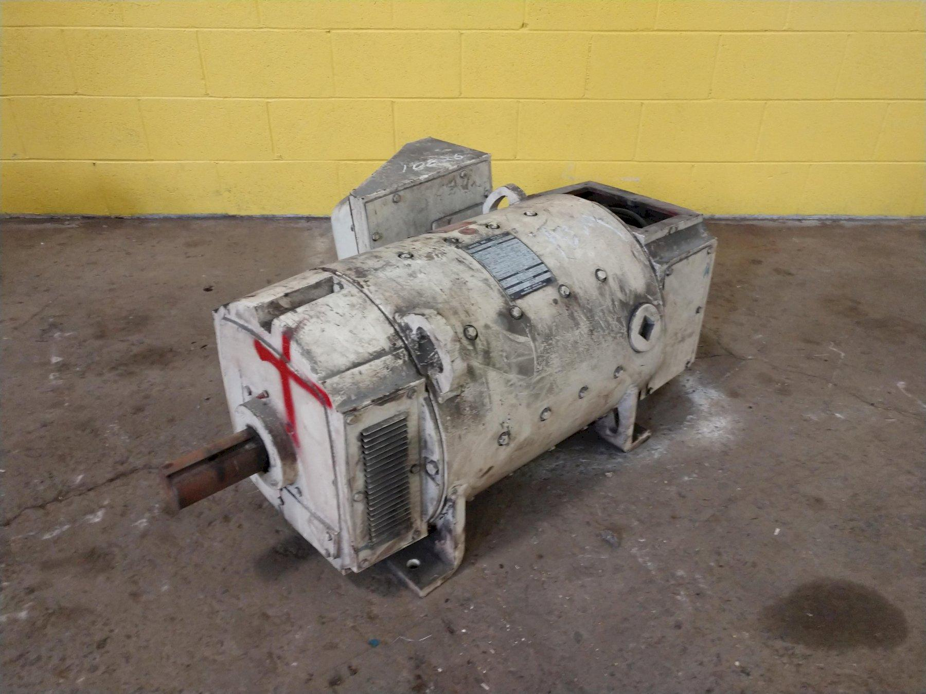 109 HP UNICO MODEL GE-680-1500 DC MOTOR: STOCK #10826