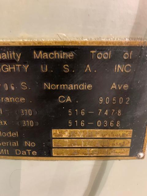 "10"" x 50"" Mighty Comet 3KVHD Vertical Milling Machine"