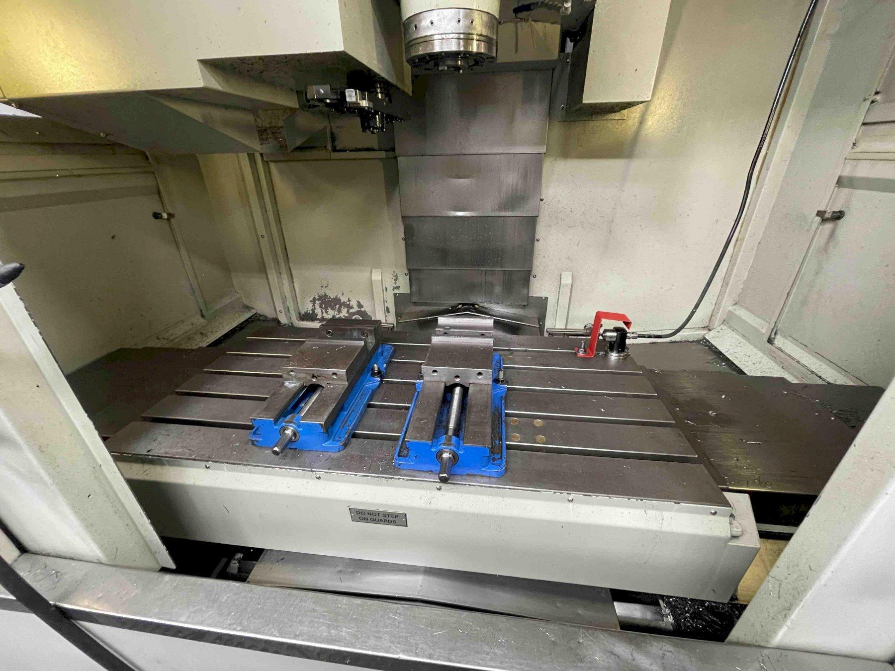 "HARDINGE GX-1000 CNC VERTICAL MACHINING CENTER, Fanuc 18i-MB CNC Control, 44"" x 21"" Table, X=40"", Y=21"", Z=21"", 40 Taper, 10,000 RPM, New 2006."