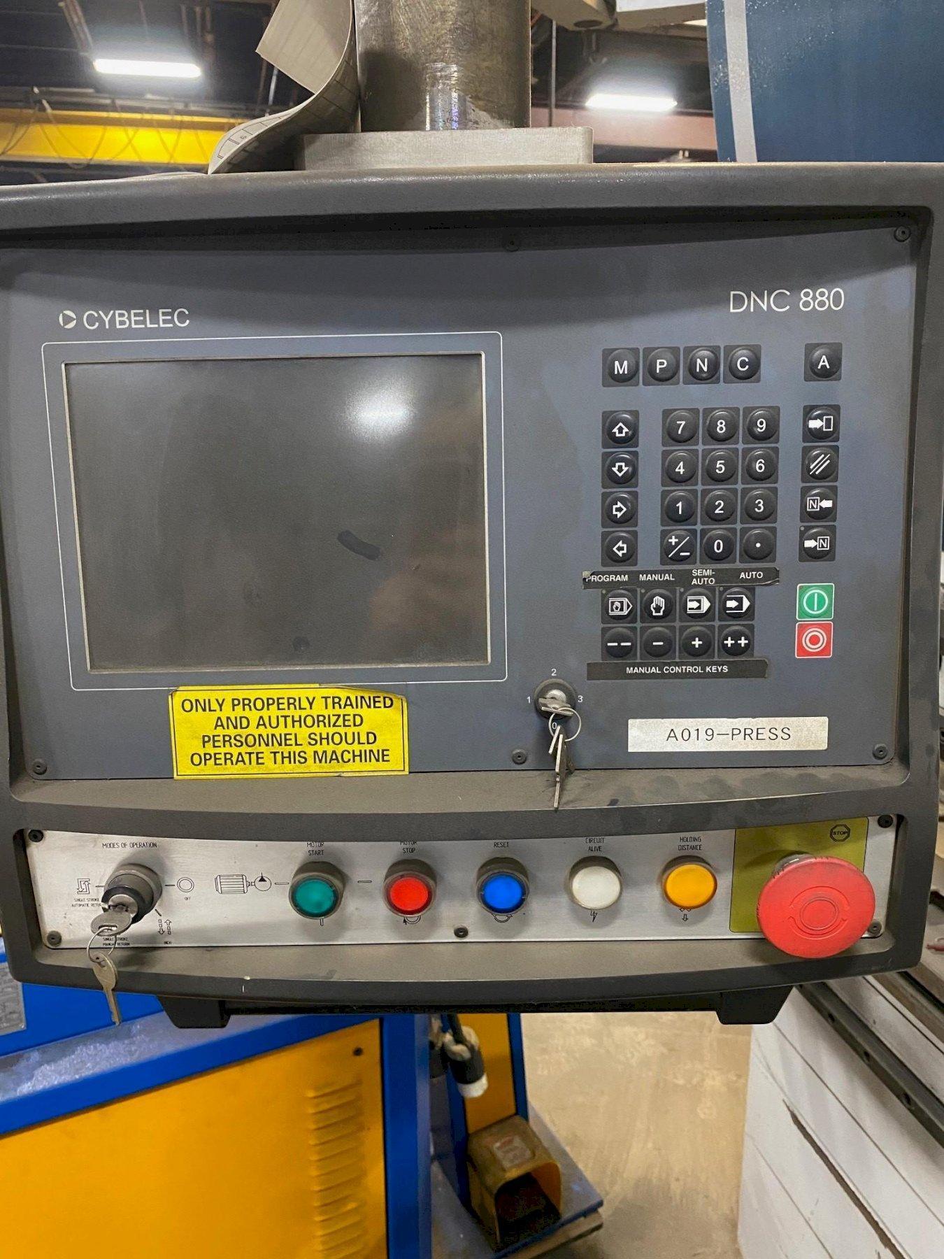 175 TON X 13' ADIRA QIHD-16040 4 AXIS CNC HYDRAULIC PRESS BRAKE. STOCK # 0530221