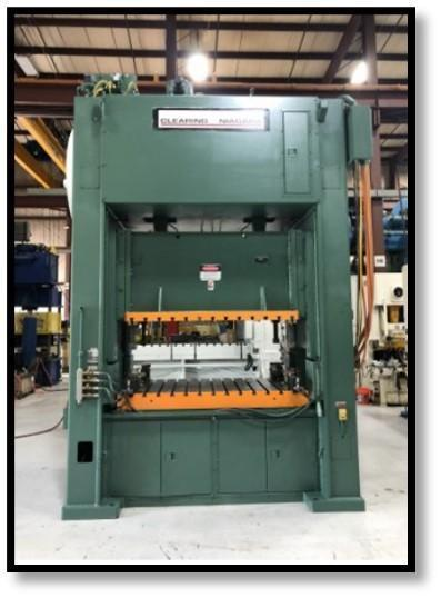 Clearing Niagara SE2-300-84 Straight Side Press, Used
