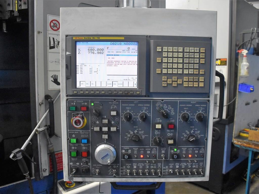2006 Doosan Daewoo Puma V550-2SP - CNC Twin Spindle Vertical Turret Lathe