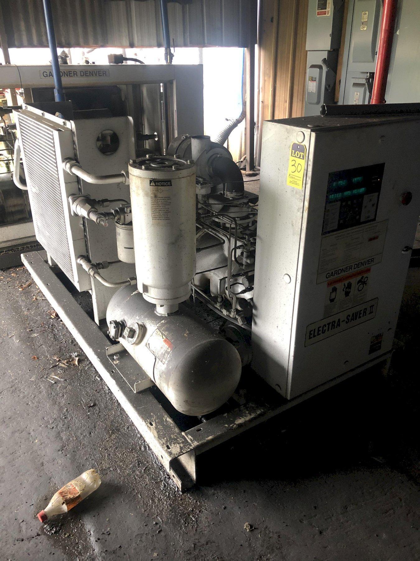 2005 GARDNER DENVER MODEL EBH99G02 ELECTRASAVER II 150HP AIR COOLED AIR COMPRESSOR S/N S212123