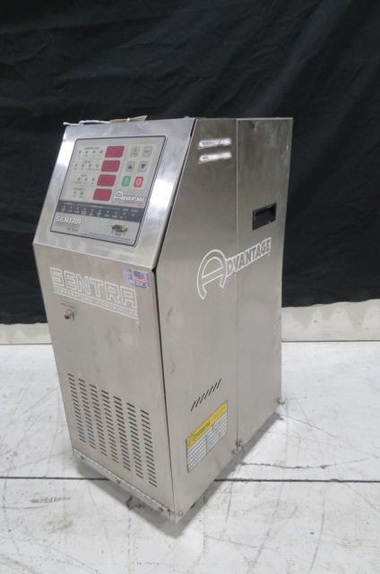 Advantage Sentra Used SK-1035ZHE-41D1 Mold Temperature Control Unit, 3/4hp, 10kw, 460V, Yr. 1998