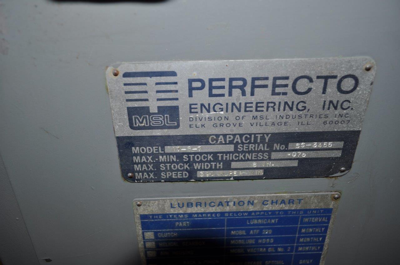 "8"" x .075"" Perfecto Motorized Straightener"