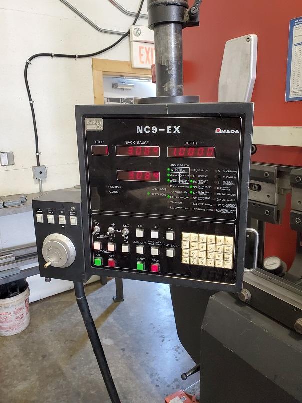 1986 Amada RG100L, 13' x 110 Ton, Hydraulic Press Brake