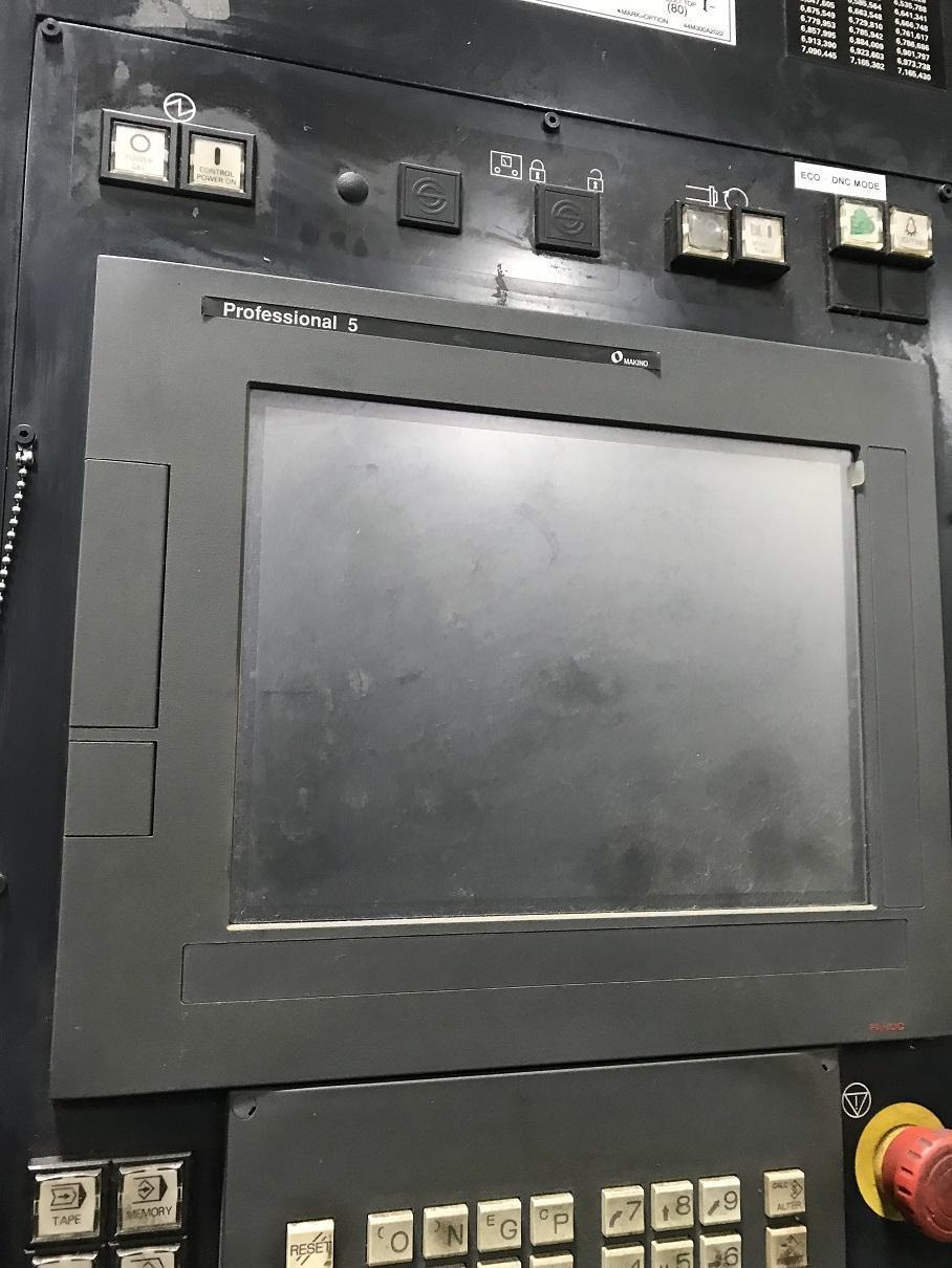 2011 Makino a61nx CNC Horizontal Machining Center