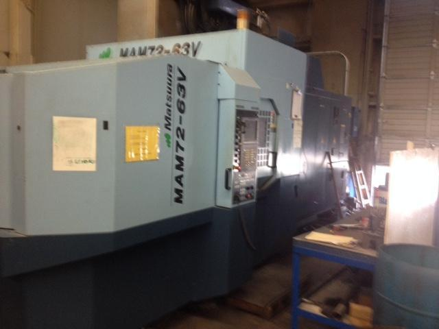 MATSUURAMatsuura MAM72-63V CNC Horizontal Machining Center