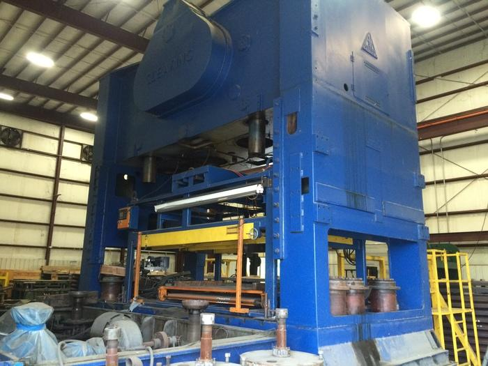500 Ton Clearing S4-500-186-108 Straight Side Press