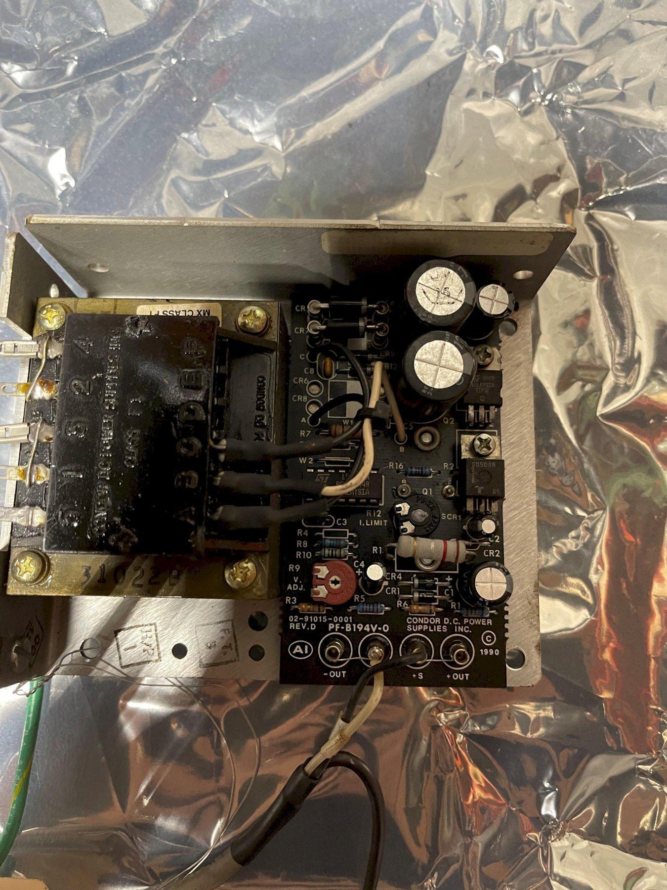 Condor DC Power Supply HB5-3/OVP-A+