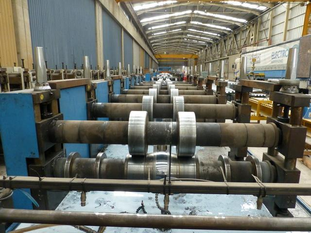 40 Stand Scaffolding Table Gasparini Rollforming Line