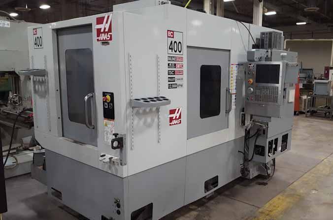2008 HAAS 4-Axis EC-400 Horizontal Machining Center