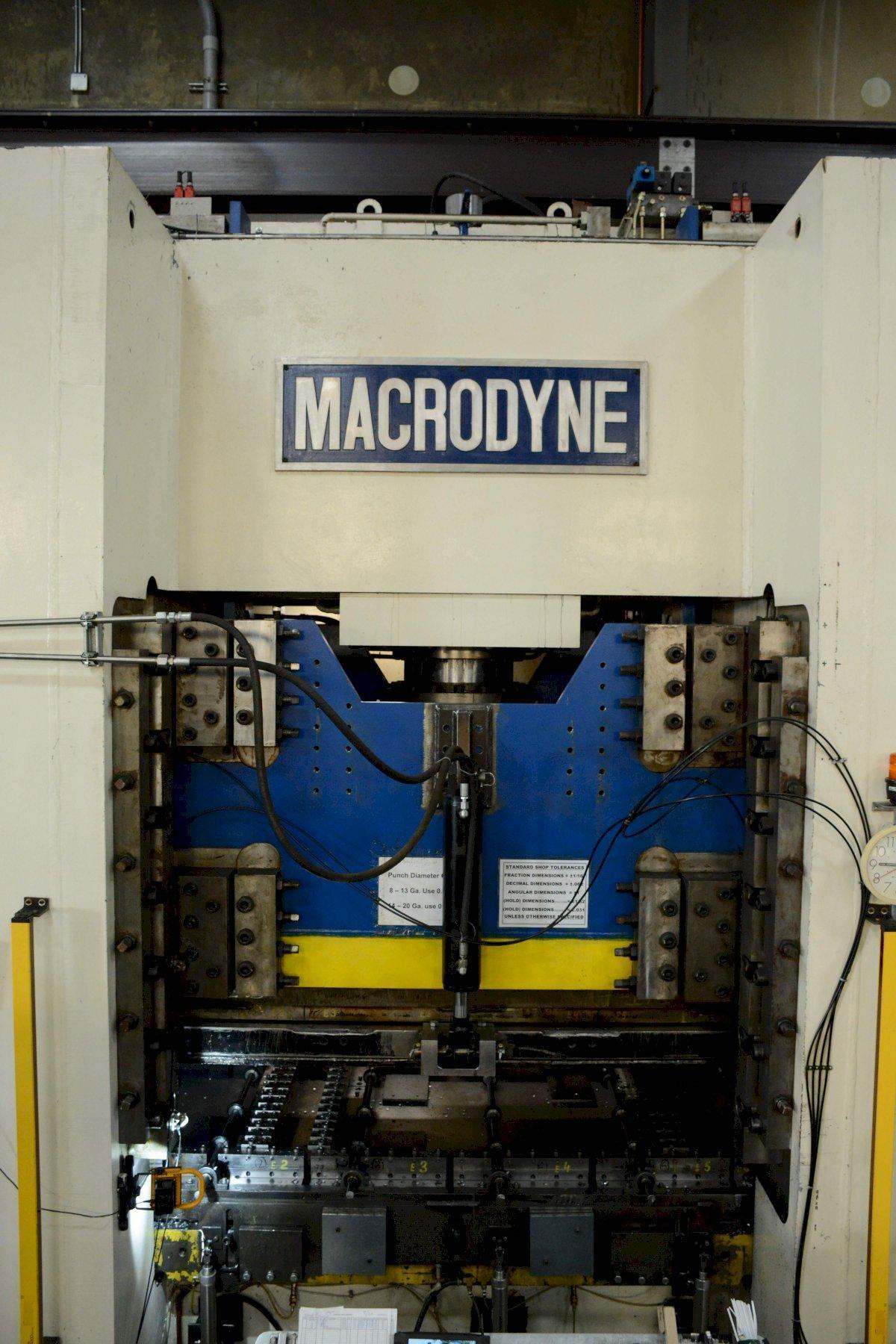1500 TON MACRODYNE HYDRAULIC PUNCH PRESS: STOCK 70947