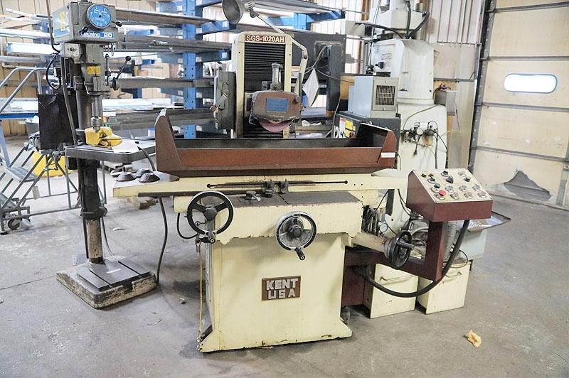 """10"""" X 20"""" KENT MODEL SGS-1020AH AUTOMATIC HYDRAULIC SURFACE GRINDER: STOCK #13422"""