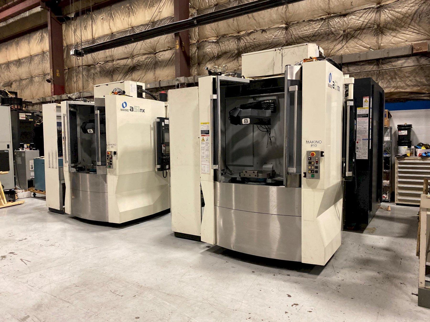 2013 Makino A51NX - CNC Horizontal Machining Center