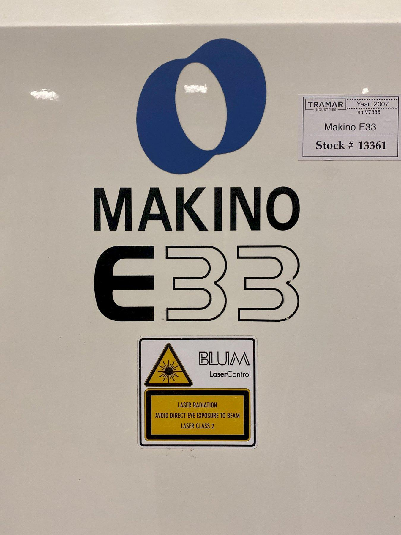 Makino E33 CNC Vertical Machining Center - 2007