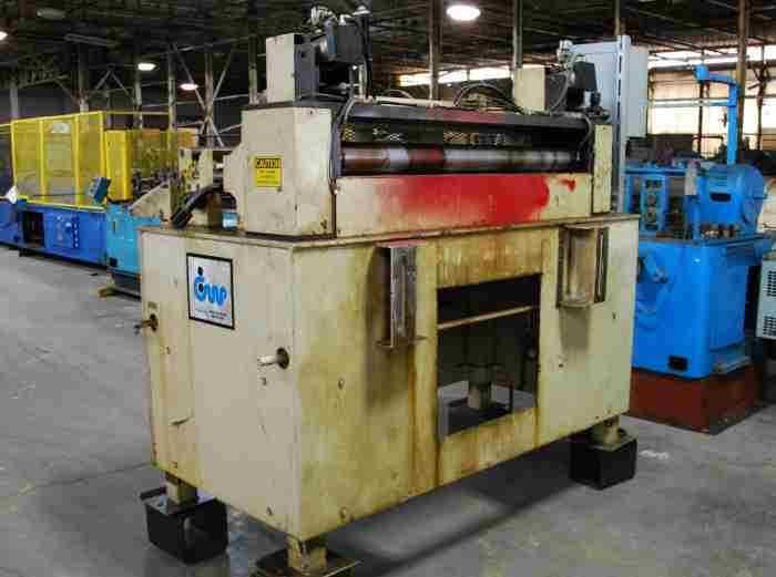 CWP Servo Roll Feed Press Feed 48