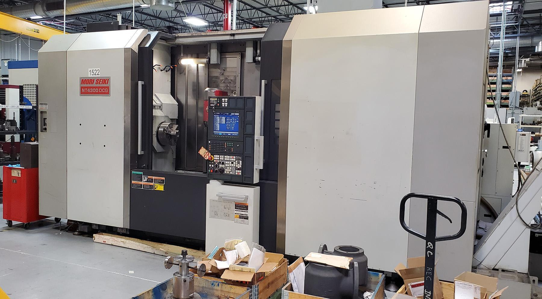 USED, MORI SEIKI NT4300 DCG / 1500 CNC TURNING / MILLING CENTER