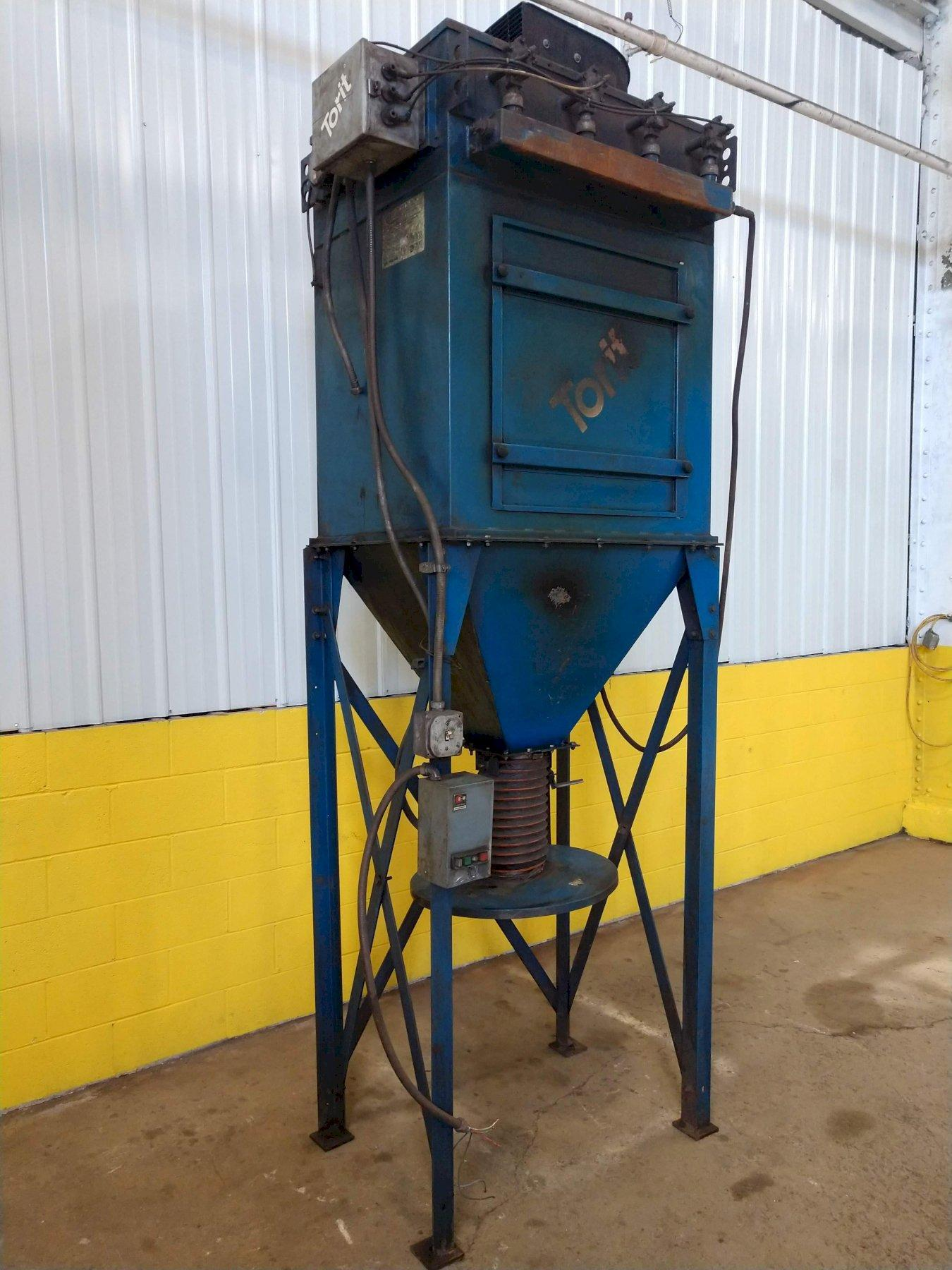 5 HP TORIT MODEL #TD650 DUST COLLECTOR: STOCK #12733