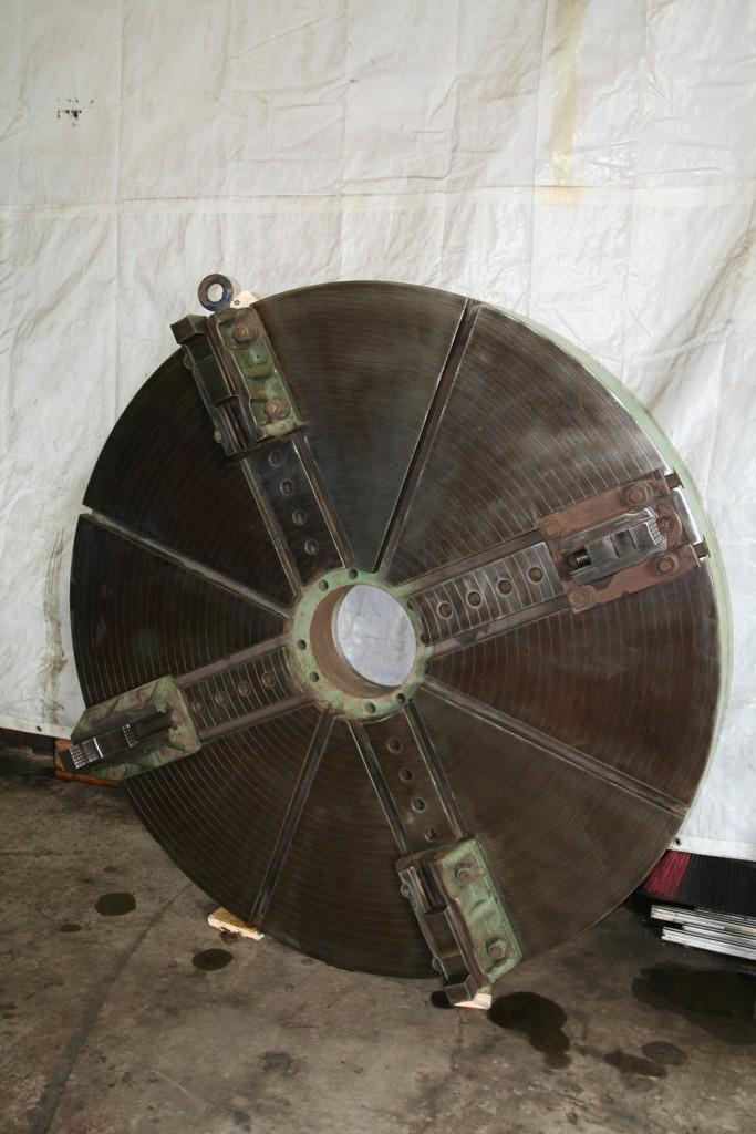 66' 4 JAW LATHE FACE PLATE TYPE CHUCK: STOCK 63937