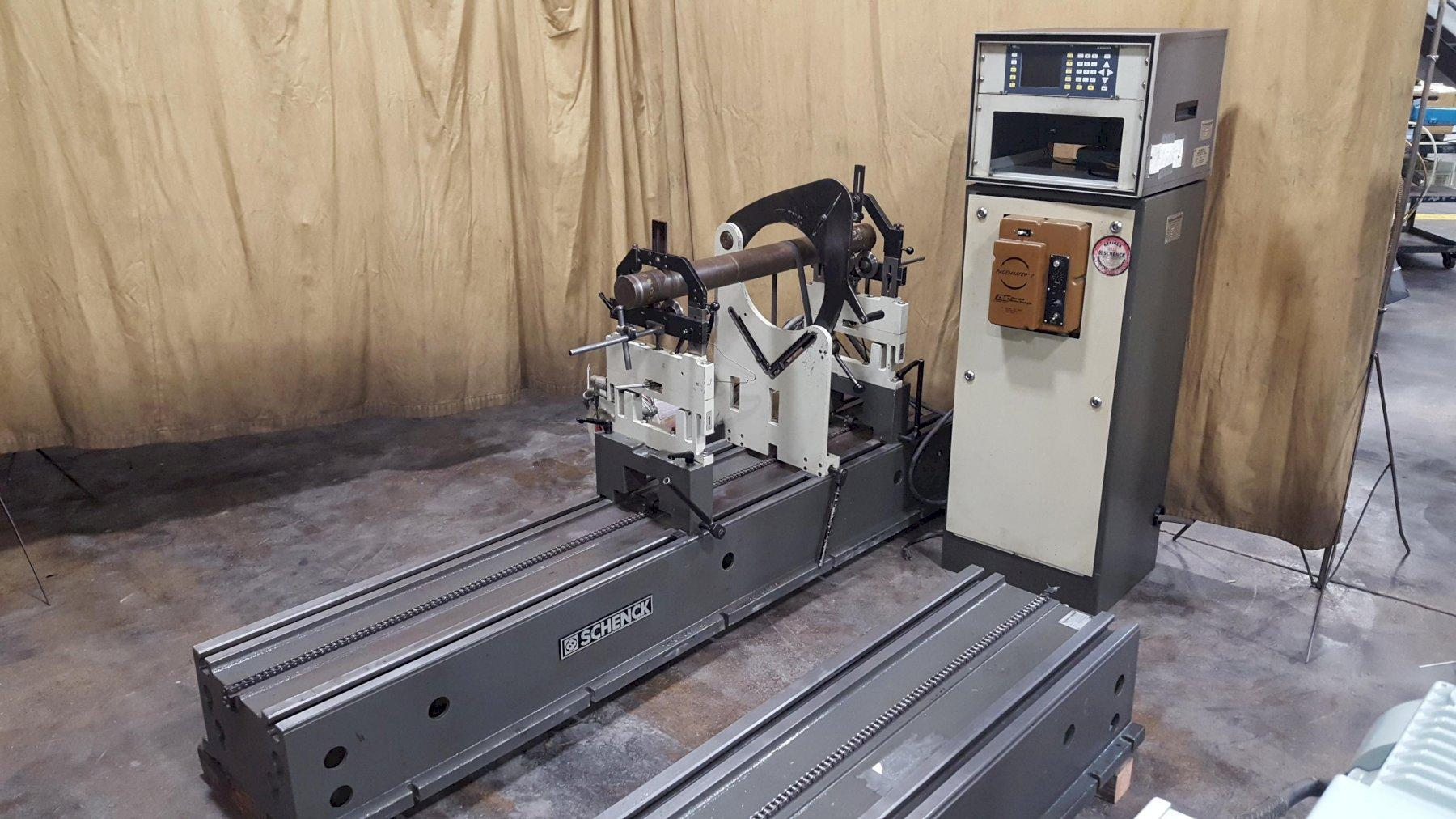 1500 lb Schenck Model HM30CK Horizontal Balancing Machine