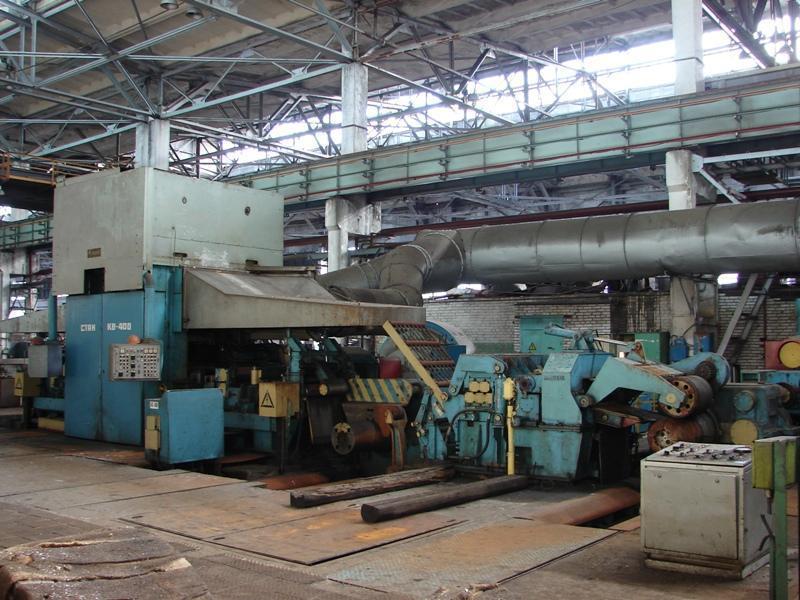 """25"""" (630mm) x 8mm Skoda 4-HI Cold Rolling Mill"""