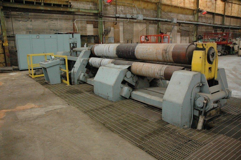 """Simag 12' x 1-1/4"""" Pyramid Plate Bending Roll"""